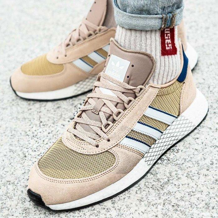 Brązowy | Adidas SNEAKER PEEKER | SALE 50%