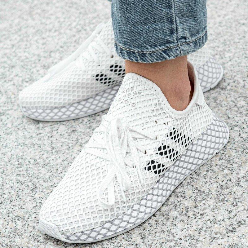adidas Originals Buty Deerupt Runner Białe obuwie