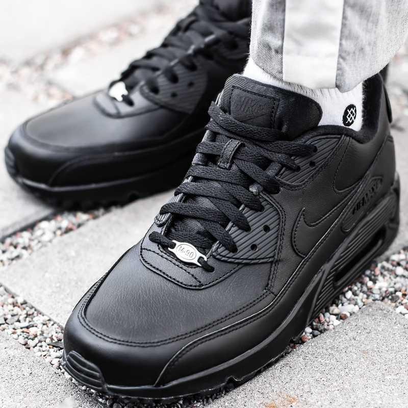 Buty sportowe męskie Nike Air Max 90 Leather (302519 001)