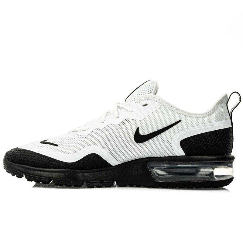 Nike Air Max Sequent 4 5 Bq8822 101 White Black Ceny i