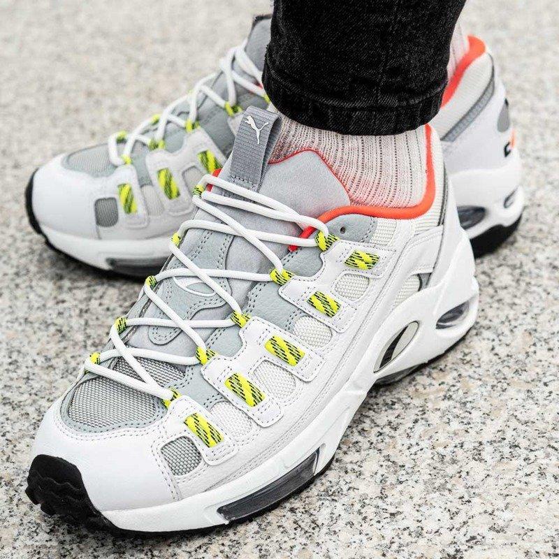 Buty męskie sneakersy Puma Cell Endura 369806 05 | BIAŁY
