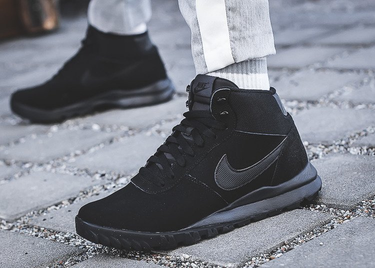 Buty zimowe męskie Nike Hoodland Suede (654888 090)
