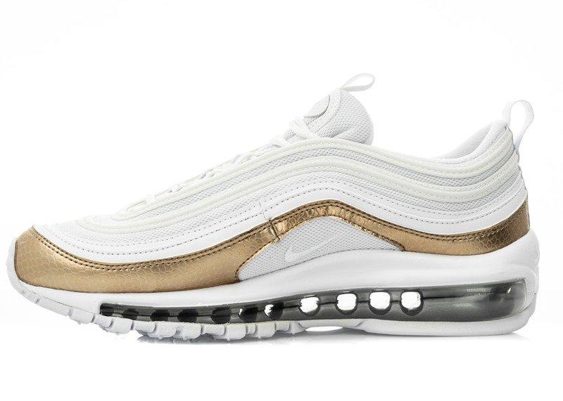 Nike Air Max 97 EP GS BV0049 100 | Biały, Złoty