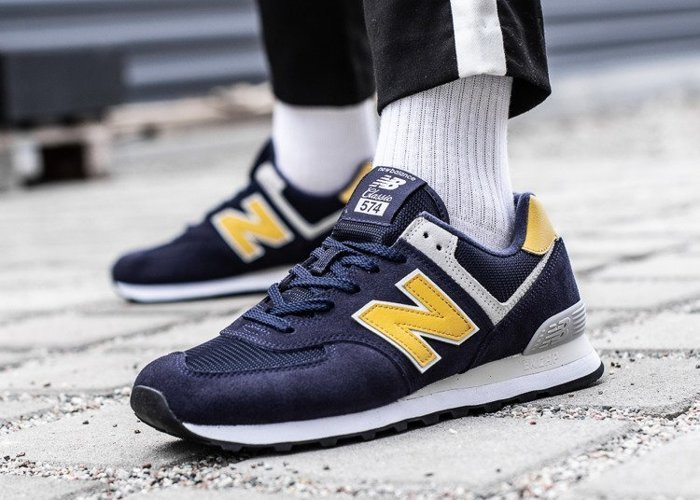 New Balance 574 granatowe (ML574SMB)